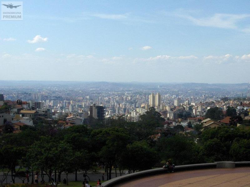 Papieskie wzgórze iwidok naBelo Horizonte