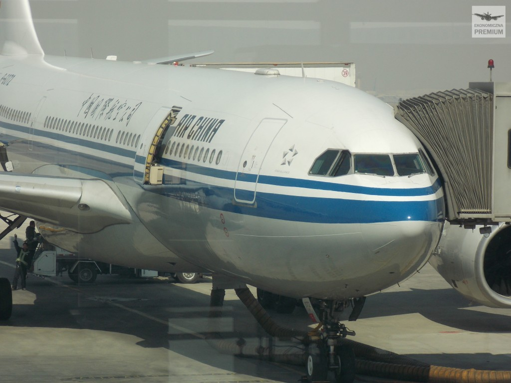 Air China czeka na start